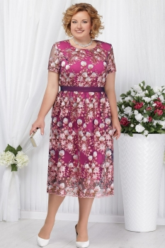 Платье Ninele 5638-1 фуксия