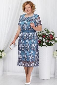 Платье Ninele 5638-2 голубой
