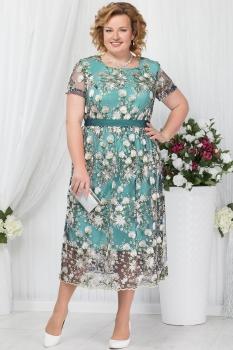 Платье Ninele 5638 зеленый