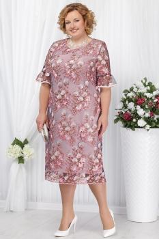 Платье Ninele 5641-1 пудра