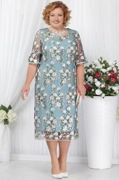 Платье Ninele 5641-2 светло-зеленый