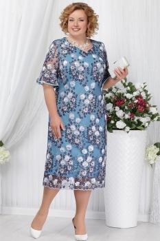 Платье Ninele 5641 голубой
