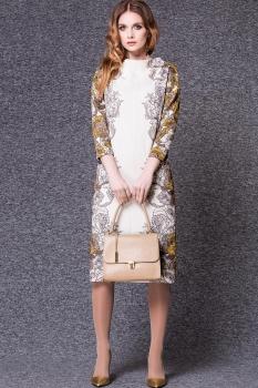 Платье Noche Mio 1.180-2 Молочный