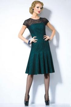 Платье Noche Mio 1.657 Сине-зеленый