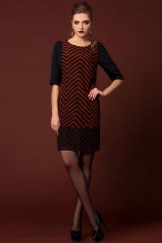 Платье Noche Mio 1.969 Коричневый