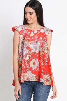 Блузка Noche Mio 6.070 Красный