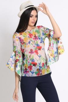 Блузка Noche Mio 6.105 Цветы