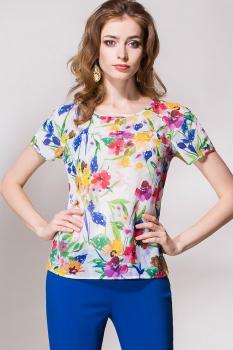 Блузка Noche Mio 6.129-2 Цветы