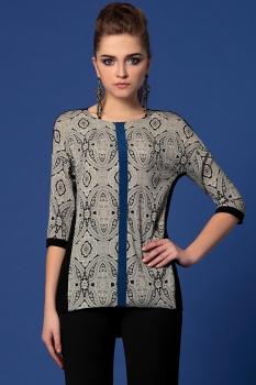 Блузка Noche Mio 6.909 Серый