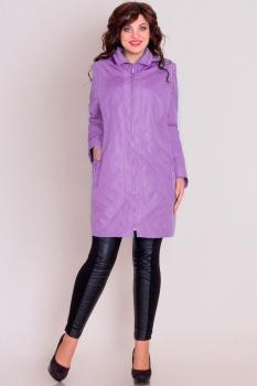 Куртка Новелла Шарм 2522-1 сиреневые тона
