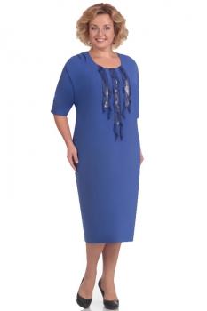 Платье Новелла Шарм 2562 синий