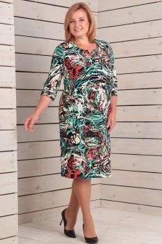 Платье Новелла Шарм 2680 абстракция