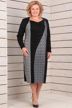 Платье Новелла Шарм 2738 черный
