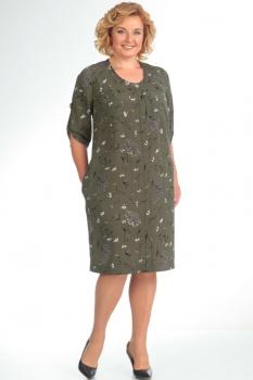 Платье Новелла Шарм 2793 хаки