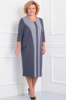 Платье Новелла Шарм 2803 серые тона