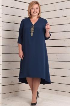 Платье Новелла Шарм 2808 темно-синий