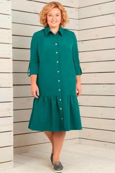Платье Новелла Шарм 2822-1 бирюзовые тона