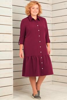 Платье Новелла Шарм 2822-2 бордо