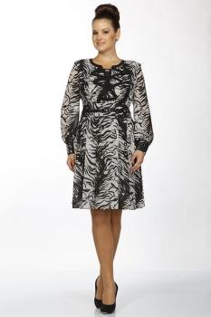 Платье Пама-Стиль 668 серые тона