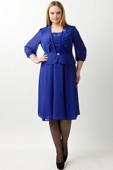 Платье Пама-Стиль 672 синий