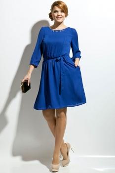 Платье Пама-Стиль 673 синий