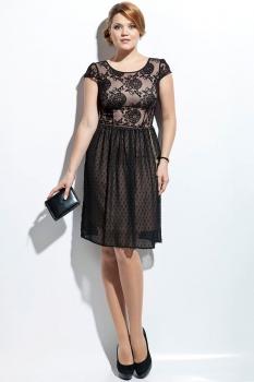 Платье Пама-Стиль 695 черный