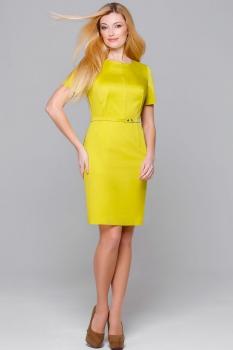 Платье Пама-Стиль 792 горчица
