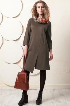 Платье Пама-Стиль 845 бежевый