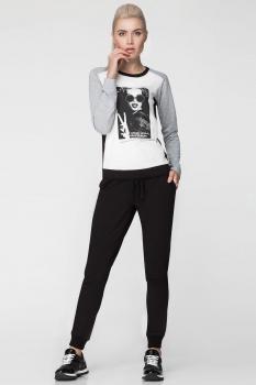 Спортивный костюм Panda 363520 серый