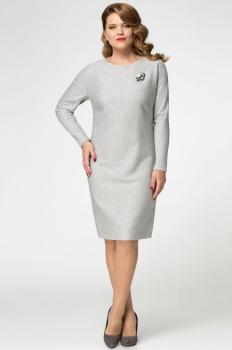 Платье Panda 397880 серый