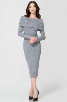 Платье Panda 400480 серый