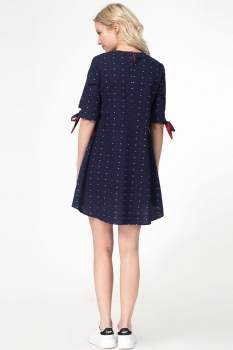 Платье Panda 403580 синий - фото 2