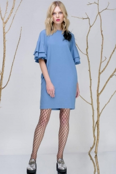 Платье Prestige 3242-2 голубой