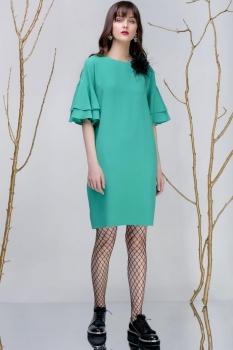 Платье Prestige 3242-3 салат