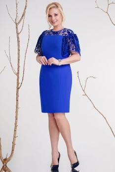 Платье Prestige 3278 васильковый