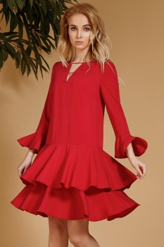 Платье Prestige 3312 красный