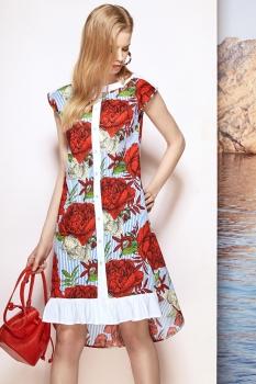 Платье Prestige 3332-3 мультиколор