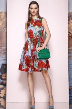 Платье Prestige 3351 мультиколор
