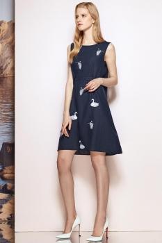 Платье Prestige 3425 синий