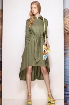 Платье Prestige 3455 олива