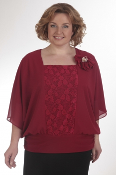 Блузка Pretty 111 красный