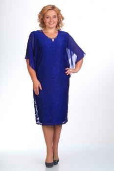 Платье Pretty 148-1 синий