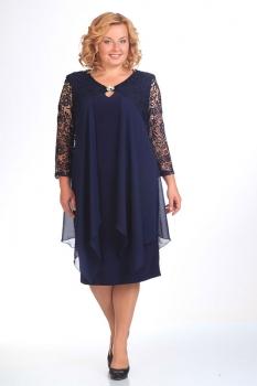 Платье Pretty 236 темно-синий