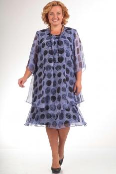 Платье Pretty 242-48 синий