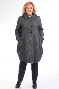 Пальто Pretty 485-7 серый