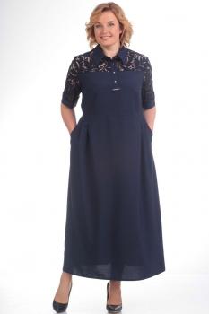 Платье Pretty 548-1 синий