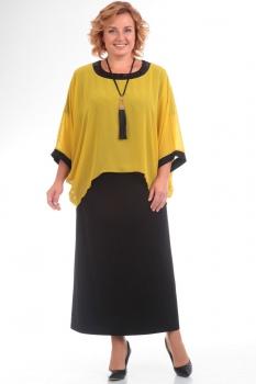 Платье Pretty 571-2 желтый
