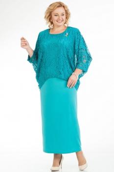 Платье Pretty 572-2 бирюзовый