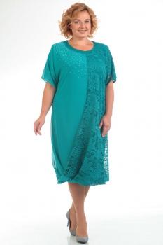 Платье Pretty 585-1 бирюзовый