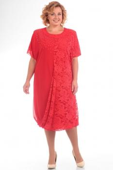 Платье Pretty 585-3 красный